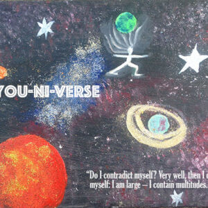 The You-Ni-Verse - Inner Spiration Print
