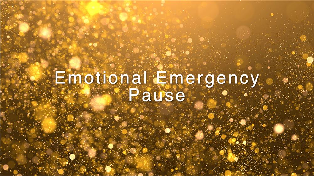 Emotional Emergency Pause